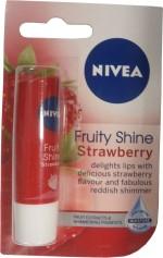 Nivea Lip Balms Nivea Fruity Shine Strawberry Lip Balm