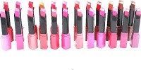 Foolzy Pack Of 24 Lipsticks Moisturing Lip Colour Shades 96 G (Multicolor)