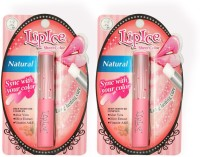 LipIce Sheer Color Natural (2g Each) Pack Of 2 4 G (Natural)