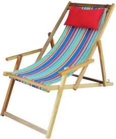 Hangit Multi stripe Solid Wood Living Room Chair