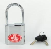Lock Alarm Lock 2104 Padlock (Black & Red)