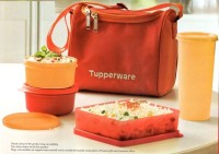Tupperware BL09818181 3 Containers Lunch Box: Lunch Box