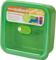 Decor Realseal Plastic Lunch Boxes - Set Of 1, Green