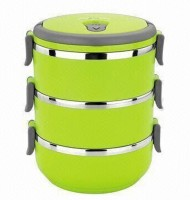 Hengli 3 Layer 3 Containers Lunch Box: Lunch Box