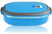 Gadget Bucket Homio Single Layered Stainless Steel Plastic Lunch Box 1 Containers Lunch Box (900 Ml)