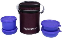 Signoraware Perfect Lunch Box With Bag 4 Containers Lunch Box (1230 Ml)