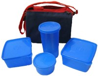 Topware Topware Plan Blue 4 Containers Lunch Box (800 Ml)