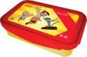 Chhota Bheem Plastic Lunch Box - Red And Yellow