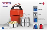 Power Plus Power Plus Power Plus Octomeal Lunch Box 3 Containers Lunch Box (350 Ml)