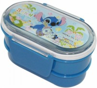 Demkas Clip Lock 2 Containers Lunch Box (500 Ml)