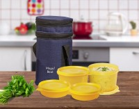 Polyset Magic Seal � Premium 4 Containers Lunch Box (620 Ml)