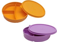 Tupperware Divi-959 2 Containers Lunch Box (350 Ml)