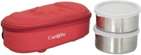 Carrolite Executive Red (400 Ml) 2 Containers Lunch Box (400 Ml)