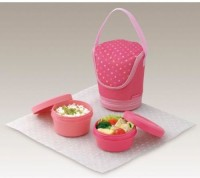 Tupperware Girls Day Out Princess 2 Containers Lunch Box (600 Ml)
