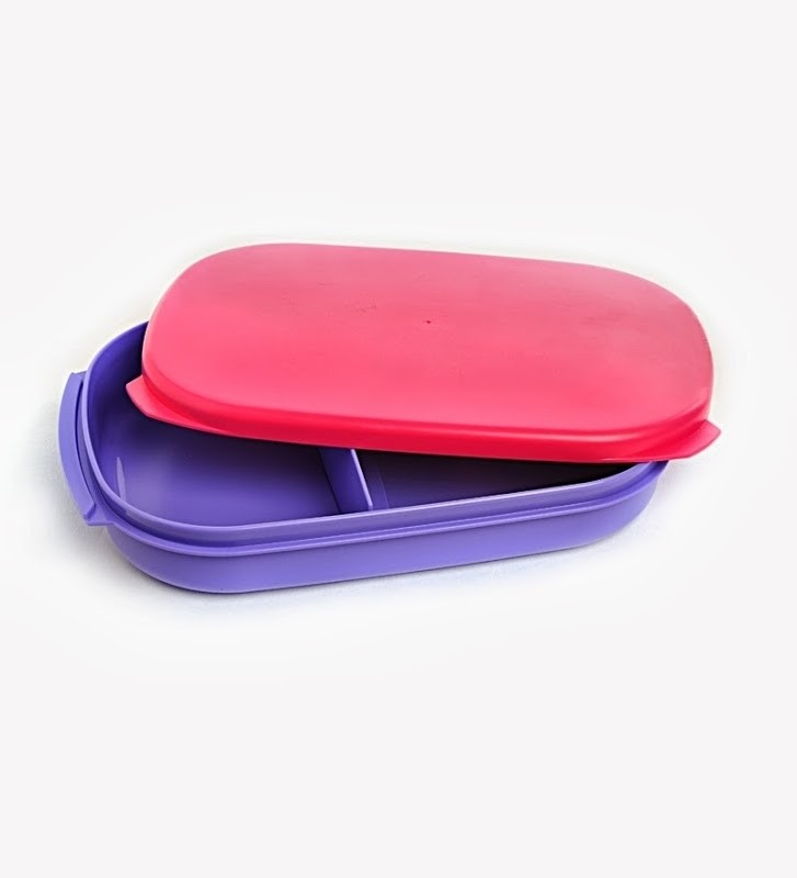 tupperware kompact lunch box 1 containers. Black Bedroom Furniture Sets. Home Design Ideas
