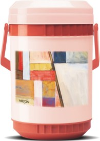 Milton Mariner-Red And Off White 4 Containers Lunch Box