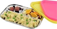 Dezinox Dezinox Stainless Steel Spoil Proof Kids Lunch Box Lunch Box (500 Ml)