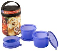 Signoraware Jazz Executive Medium 3 Containers Lunch Box (1080 Ml)