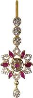 Mp Fine Jewellery Exclusive Maangtikka Short Length Alloy Maang Tikka