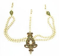 Zaveri Pearls Kundan Bridal Zinc Matha Patti