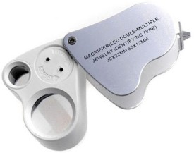 Pia International Dual Loupe 30X60X Magnifying Glass