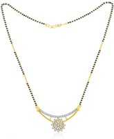 Jashn The Star Sparkling With 22 Kt Gold Plated Made With 925 Sterling Silver Mangalsutra