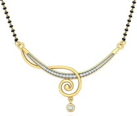 BlueStone The Indrani Yellow Gold Tanmaniya