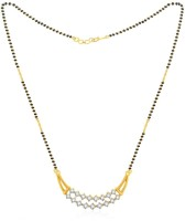 Jashn The Shubhaya With 22 Kt Gold Plated Made With 925 Sterling Silver Mangalsutra