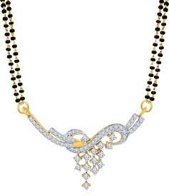 Eldora Sparkle Of Diamonds- Alloy Mangalsutra
