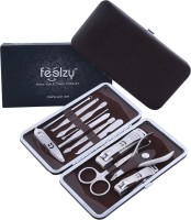 Foolzy 13 In 1 Manicure Pedicure Compact Set (250 G, Set Of 12)