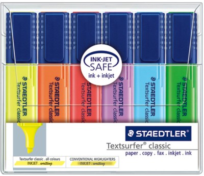 Buy Staedtler Chisel Tip Highlighter Pen: Marker Highlighter