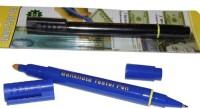 Imported Banknote Tester, Ball Pen Permanent Alcohol Dye Base Marker (Set Of 1, Black)