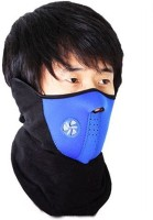 ShopperBay Neoprene Blue Bike Face Balaclava For Riding Bike Dust/Sun/Heat/Cold Protection Anti-pollution Mask (Blue, Pack Of 1)