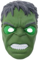 Reyhawk Super Hero Avengers - Hulk Mask With 3D Lights Party Mask (Green, Pack Of 1)