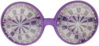 Tootpado Dart Board Party Mask (Purple, Pack Of 1)