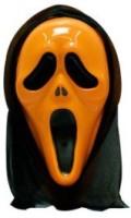 Smartcraft Scream -Orange Party Mask (Multicolor, Pack Of 1)