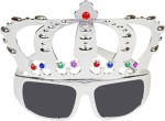 Funcart Role Play Toys Funcart Silver Crown Glasses
