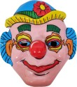 SNB Joker Pvc Plastic Mask (set Of 12) Party Mask - Pack Of 12