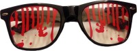 Funcart Blood Spots Sunglasses Party Mask (Black, Pack Of 1)