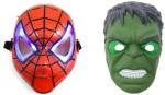 I Gadgets Spiderman and Hulk with LED