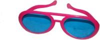 Satyam Kraft Round_pink Party Mask (Pink, Pack Of 6)