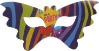 Shopaparty It's A Party Party Mask (Multicolor, Pack Of 6)