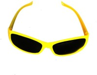 Satyam Kraft Simple_yellow Party Mask (Yellow, Pack Of 6)
