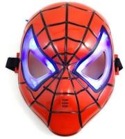 Funcart Superhero Led Party Mask (Black, Pack Of 1)