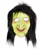 Tootpado Realistic Latex Rubber Adult Size Face - Witch 1a190 - Horror Halloween Ghost Scary Full Face Cosplay Costumes Supplies Creepy Zombie Party Mask (Multicolor, Pack Of 1)