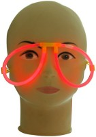 Smartcraft Glow Eye Glasses Party Mask (Multicolor, Pack Of 1)