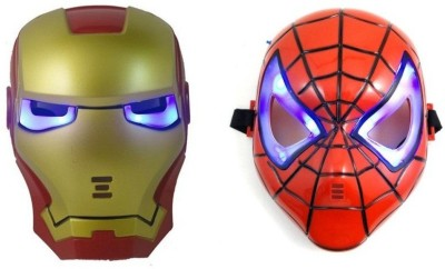 i gadgets Iron Man and Spiderman With Led Light