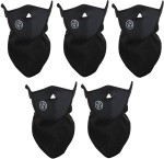 Evana 5 Pieces Latest Technology Face Nose Ear Neck Ski Snowboard Scooter Biking Motor Cycle Riding Warm Dust Free Breathable