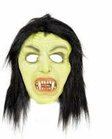 Tootpado Realistic Latex Rubber Adult Size Face - Witch 1a186 - Horror Halloween Ghost Scary Full Face Cosplay Costumes Supplies Creepy Zombie Party Mask (Multicolor, Pack Of 1)