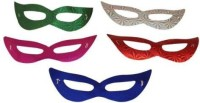 Smartcraft Paper Eye Party Mask (Multicolor, Pack Of 5)
